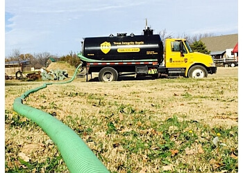 Plano septic tank service Texas Integrity Septic