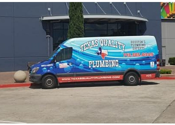 Houston plumber Texas Quality Plumbing