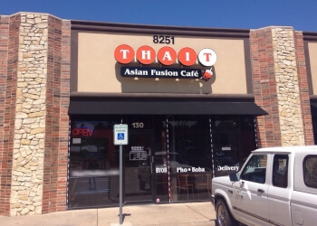 Irving thai restaurant Thai Tea Asian Fusion Cafe