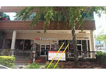Raleigh thai restaurant Thaiphoon Bistro