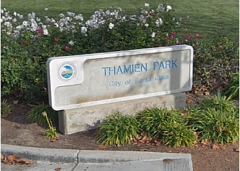 Santa Clara public park Thamien Park