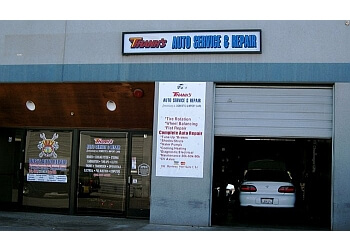 San Jose car repair shop Thanh's Auto Services & Repair