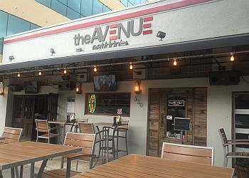 St Petersburg american cuisine The Avenue Eat + Drink
