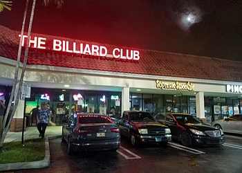 Hialeah sports bar The Billiard Club