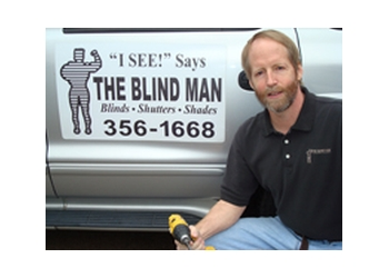 Nashville window treatment store The Blind Man