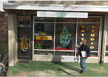 Shreveport tattoo shop The Body Electric Tattoo