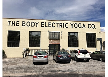 St Petersburg yoga studio The Body Electric Yoga Company