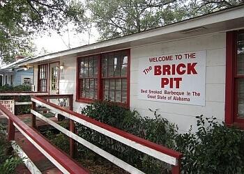 Mobile barbecue restaurant The Brick Pit
