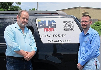 Independence pest control company The Bug Man, LLC.