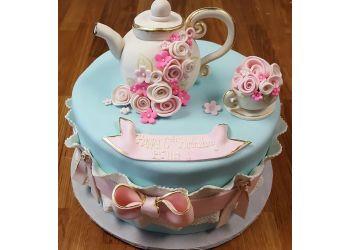 Oceanside cake The Crimson Cake