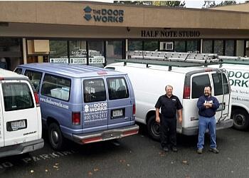 Bellevue garage door repair THE DOOR WORKS