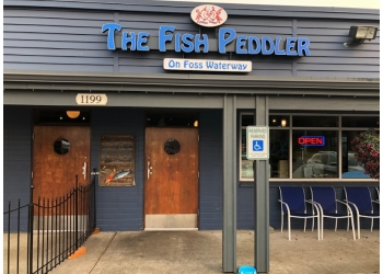 Tacoma seafood restaurant The Fish Peddler Restaurant and Market