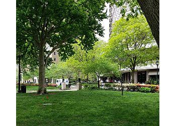 Philadelphia public park Rittenhouse Square