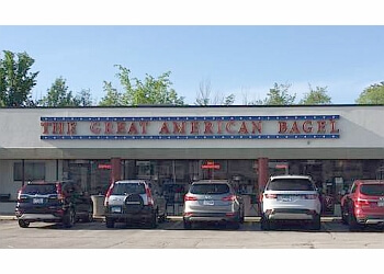 Lubbock bagel shop The Great American Bagel Bakery