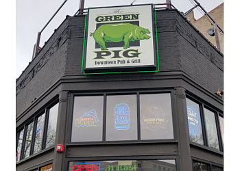 Salt Lake City sports bar The Green Pig Pub