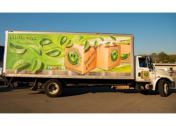 Nashville moving company The Green Truck Moving & Storage