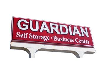 Huntsville storage unit The Guardian Company