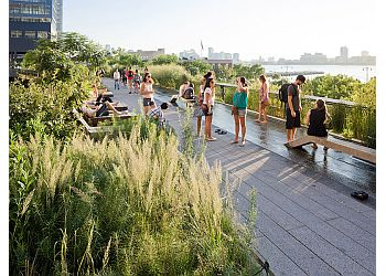 New York public park The High Line