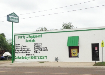 Laredo event rental company The House of Rentals
