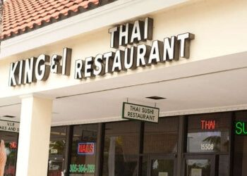 Hialeah thai restaurant The King & I