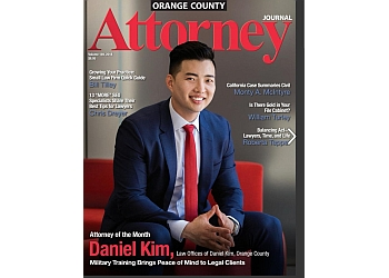 Anaheim personal injury lawyer The Law Offices of Daniel Kim