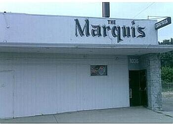 San Bernardino sports bar The Marquis Lounge stage