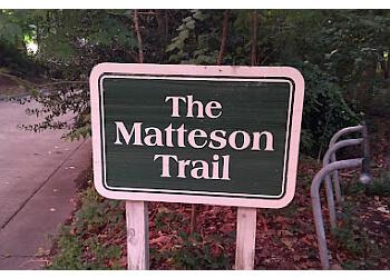 Hampton hiking trail The Matteson Trail