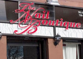 New York nail salon The Nail Boutique