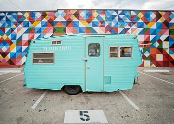 Arlington photo booth company The Photo Camper