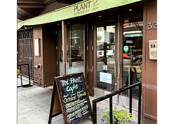 San Francisco vegetarian restaurant The Plant Cafe Organic