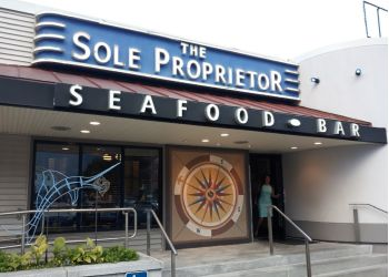 Worcester seafood restaurant The Sole Proprietor
