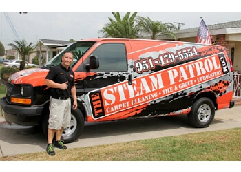 Corona carpet cleaner The Steam Patrol