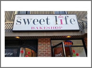 Philadelphia cake The Sweet Life Bakeshop