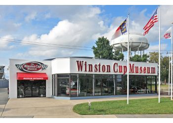 Winston Salem places to see The Winston Cup Museum Special Event Center