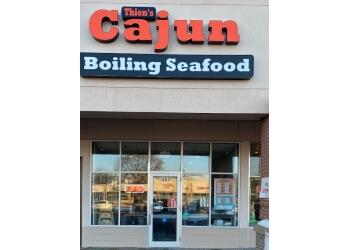 St Paul seafood restaurant Thien's Cajun Boiling Seafood