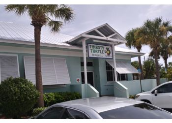 Port St Lucie seafood restaurant Thirsty Turtle Seagrill