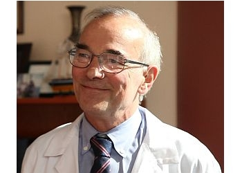Baltimore cardiologist Thomas A. Traill, BM, BCh, MD