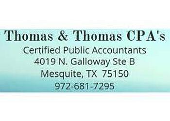Mesquite accounting firm Thomas & Thomas CPA