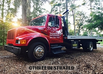Jacksonville towing company Thompson Enterprises