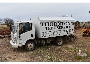 Abilene tree service  Thornton's Tree Service