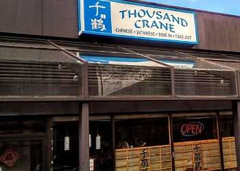 Manchester japanese restaurant Thousand Crane