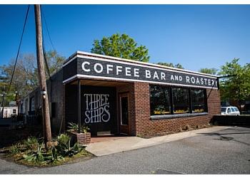 Virginia Beach cafe Three Ships Coffee Roasters
