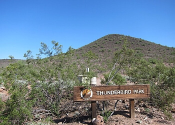 Glendale hiking trail Thunderbird Conservation Park Trail