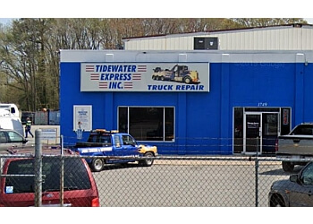 Hampton towing company Tidewater Express Inc.