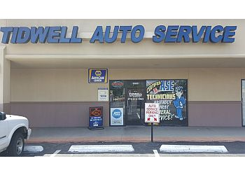Plano car repair shop Tidwell Auto Service