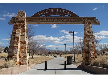 Albuquerque public park Tiguex Park