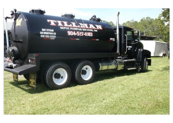Jacksonville septic tank service Tillman Septic Pumping Services Inc.