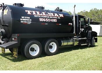 Jacksonville septic tank service Tillman Septic Pumping Services Inc.