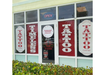 Port St Lucie tattoo shop Timeless Tattoo Co.