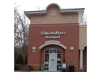 Cary preschool Time to Shine Preschool